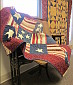 Red, White, and Blue Patriotic Quilt by S. Cully.